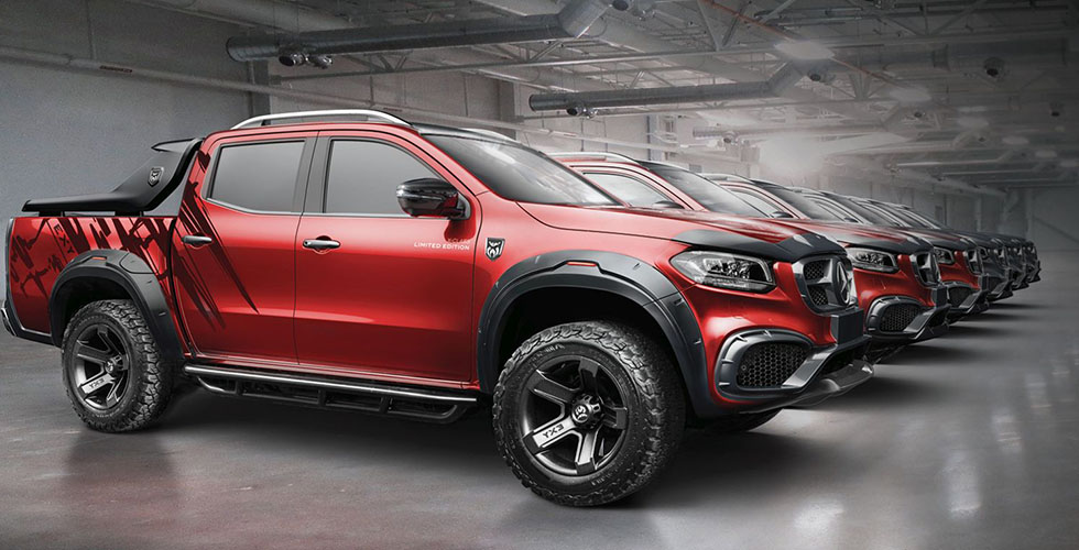 Mercedes X-Class Limited Edition