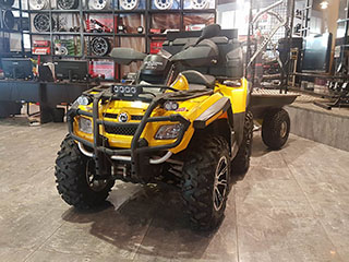 Can-Am Outlander Max-XT 650-HO