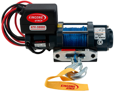 Лебедка KINGONE ATV3000C SR (12V)