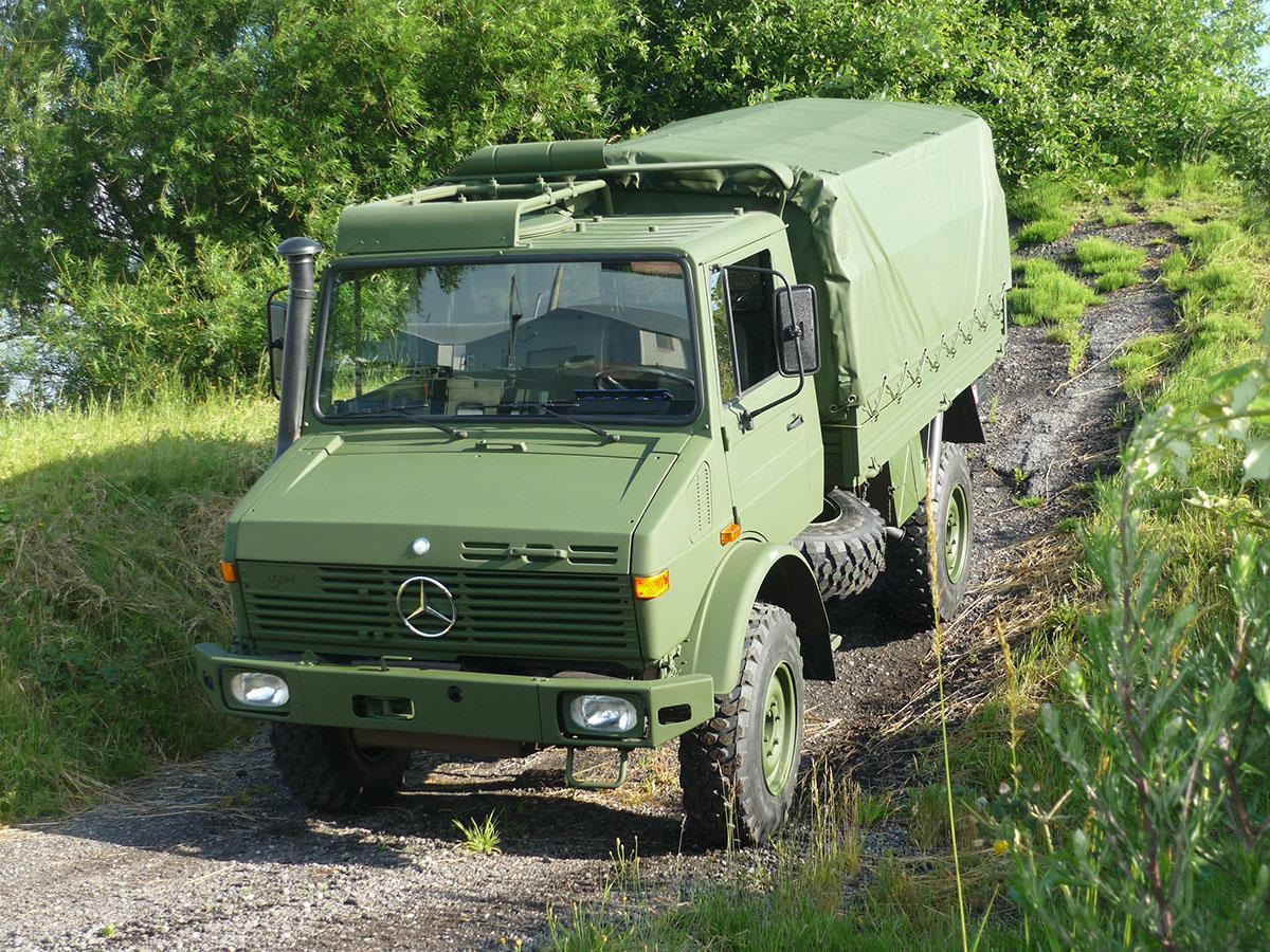 Купить Mercedes Benz Unimog U435 (тент). Гарантия 1 год ...