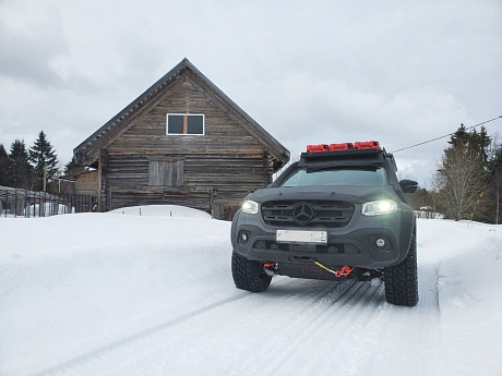 Mercedes X-class Expedition